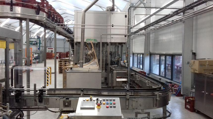 L'usine de Meyras à l'arrêt