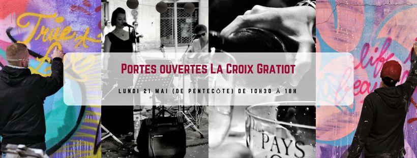 La Croix Gratiot : un savant mélange vino-artistico