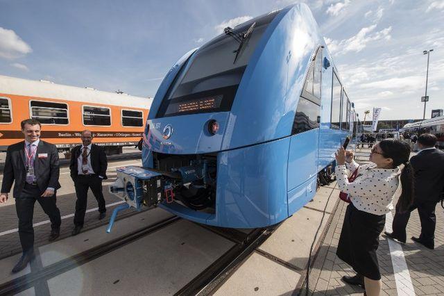 Le train Coradia iLint en Allemagne fonctionne à l'hydrogène
