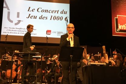 Enregistrement avec l'Orchestre National de France