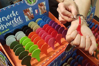 l'accroche bracelet » au concours Lépine , à la foire de Paris