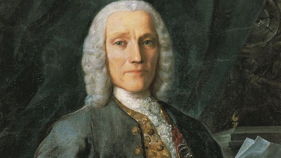 Portrait du compositeur Domenico Scarlatti (Naples, 1685 - Madrid, 1757).