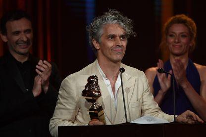James Thierrée à la réception de son Molière en 2017