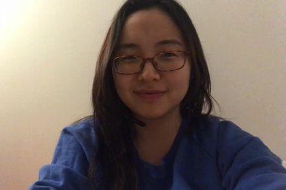 Min Ha, jointe via Skype par Caroline Gillet