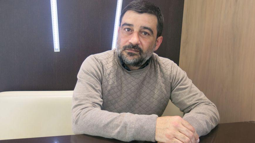 L'Isérois David Vallat lutte aujourd'hui contre l'islam radical. PHOTOPQR/LE DAUPHINE/MAXPPP