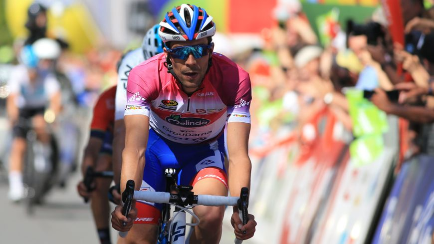 Thibaut Pinot en rose sur le Tour des Alpes. Prémonitoire pour le Giro ?