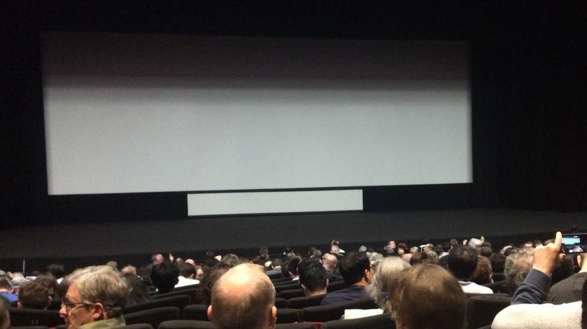 une projection à Cannes en 2017