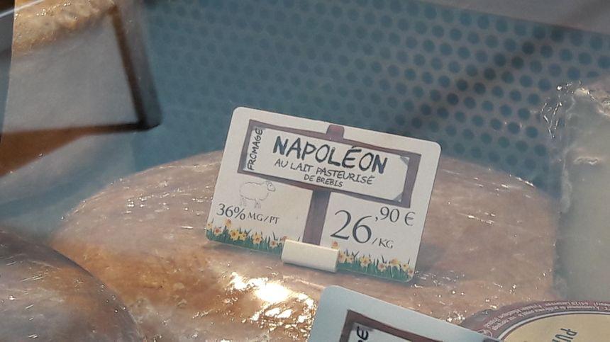 L'un des fromages crée par Dominique Bouchait