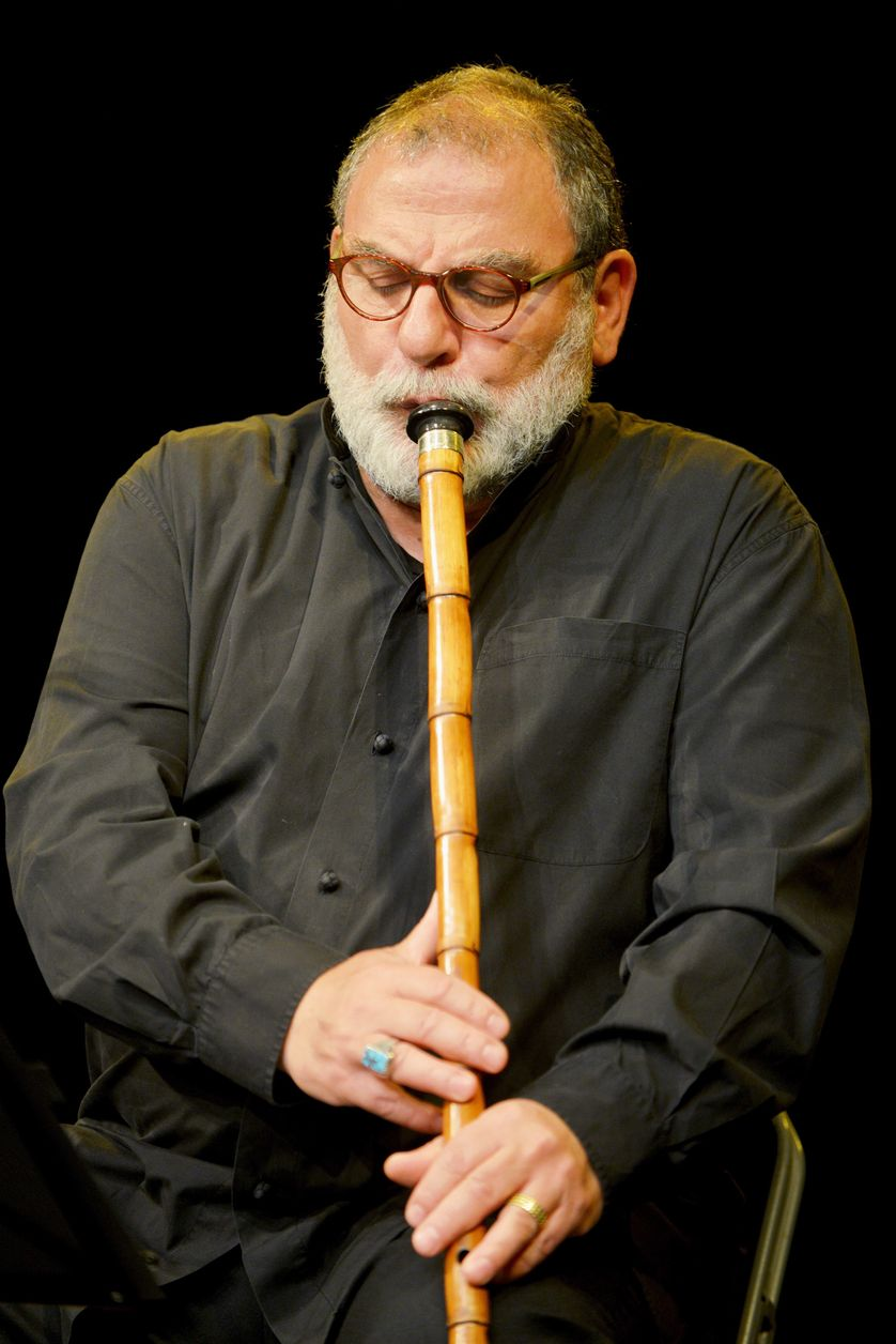 Kudsi Ergüner, célèbre joueur de ney