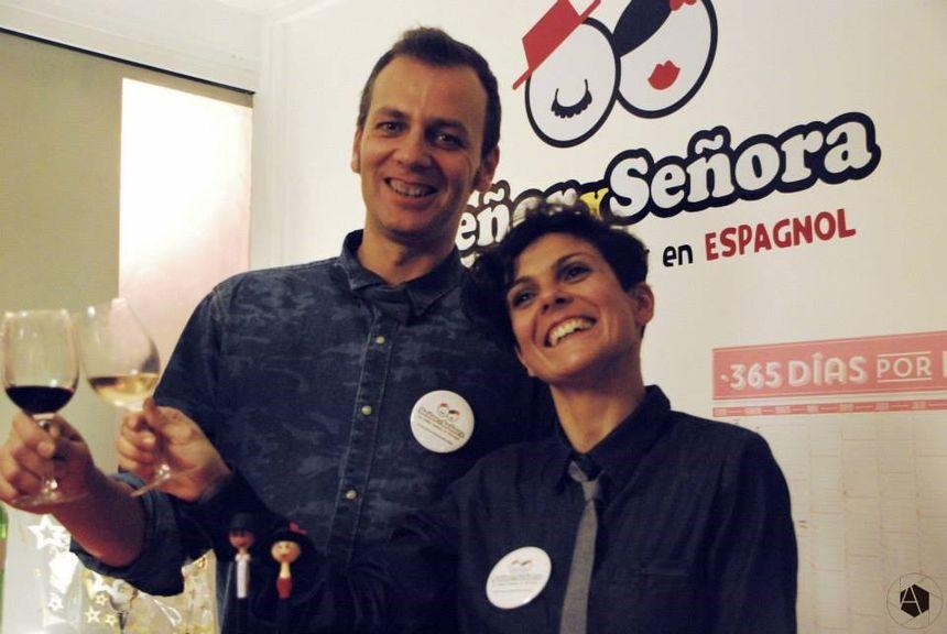 Clara Ramirez et Juan Manuel Cortes