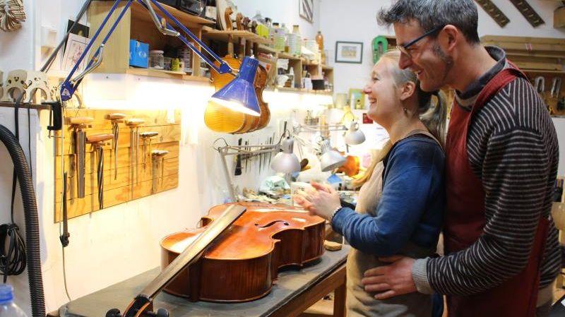 Sophie et Julien Luthiers