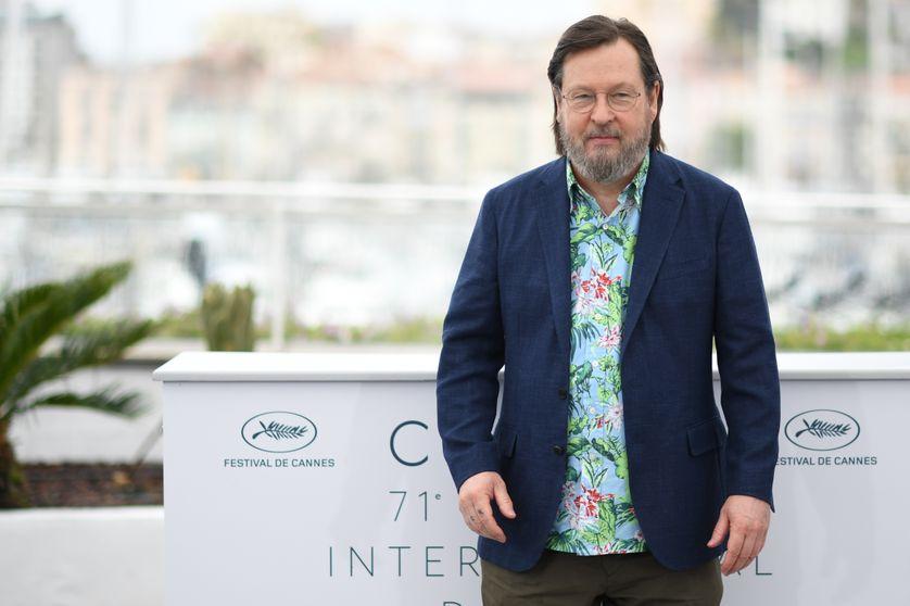 Lars Von Trier à Cannes le 14 mai 2018