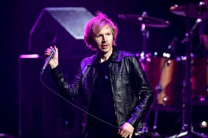 Beck en concert en Californie, 2018