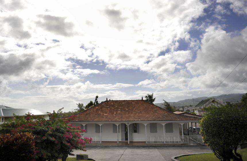 La maison d'Aimé Césaire à Fort-De-France en Martinique.