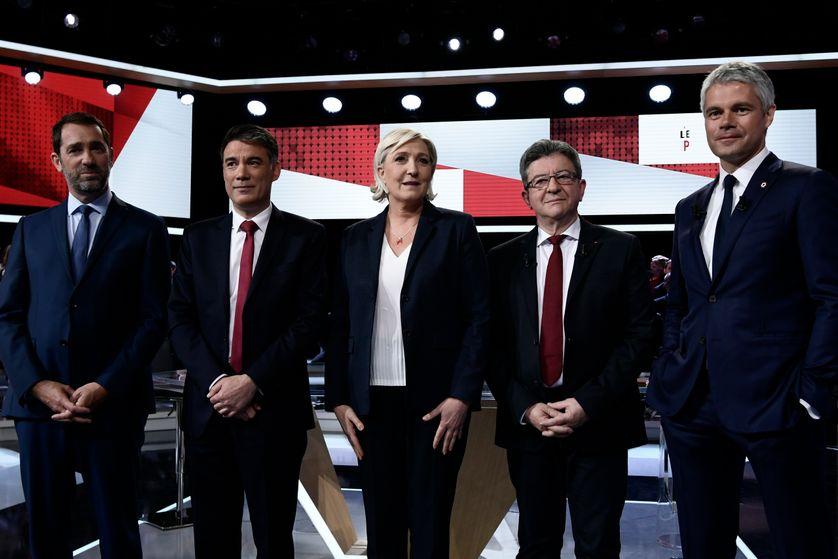 Cinq leaders de partis politiques réunis pour la première fois depuis la présidentielle