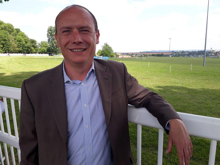 Frédéric Beauchef, conseiller départemental, chargé des infrastructures routières