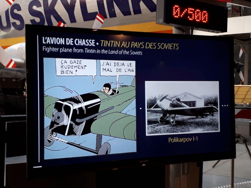 """Il y avait déjà un avion dans """"Tintin au pays des Soviets"""", le premier album en 1929"""