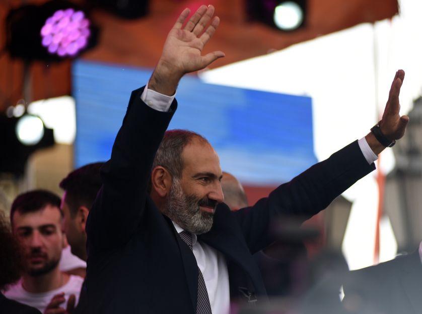 Nikol Pachinian, le militant d'opposition devenu Premier Ministre