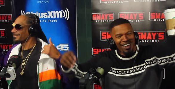 Snoop Dogg et Jamie Foxx créent un freestyle hilarant à la