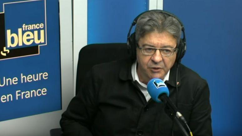 Jean-Luc Mélenchon répond à Jean-Claude, en direct sur France Bleu