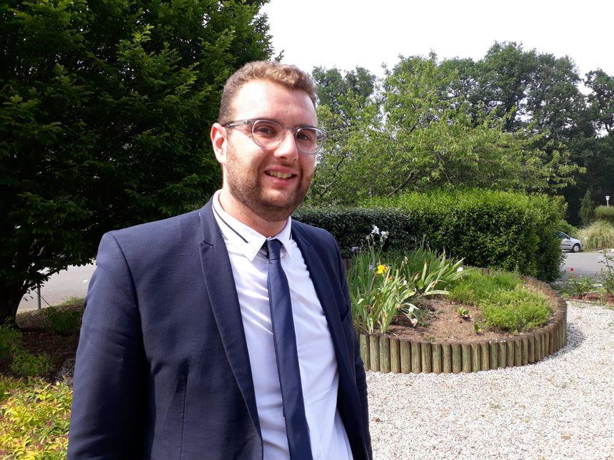 Damien Pichereau, député sarthois de la République en Marche