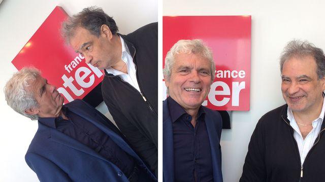 Claude Sérillon et Raphaël Mezrahi pour Dans tes rêves, diptyque - 2018