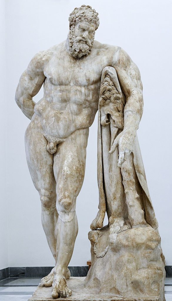 Statue d'Hercule Farnèse