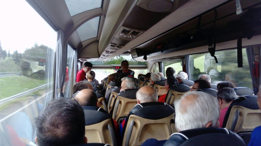C'est encore calme, mais l'ambiance va monter en s'approchant de Toulouse.