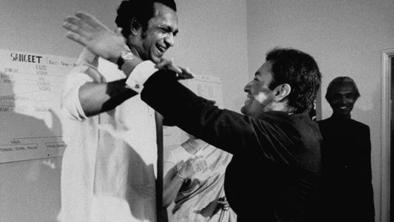 Ravi Shankar et Zubin Mehta (Mai 1967, Californie)