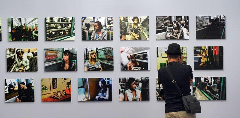 exposition de photographies de Chris Marker à Arles en 2011.