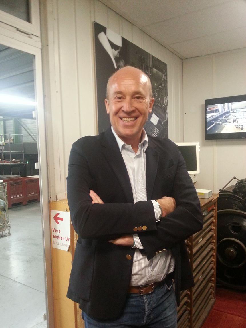Laurent Caillat, 3e du nom à la tête de l'entreprise créée par son grand-père Cours Berriat à Grenoble