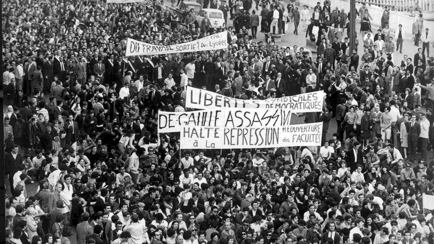 En Mai-68, la grève a très vite été très suivie en PACA.