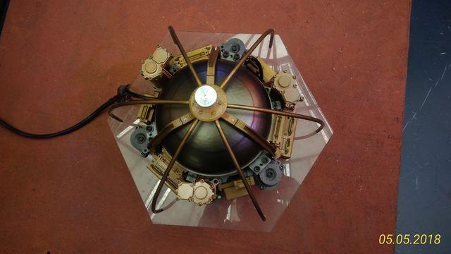 La maquette du sismographe SEIS