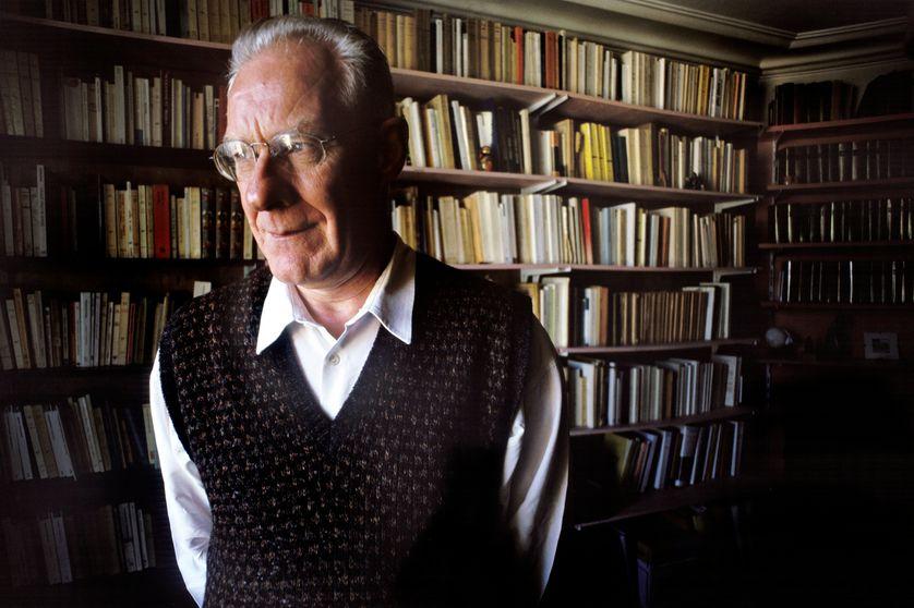 Le philosophe Alain Badiou en 1998