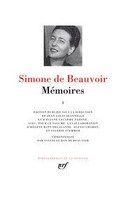 Mémoires - Tome I, Simone de Beauvoir