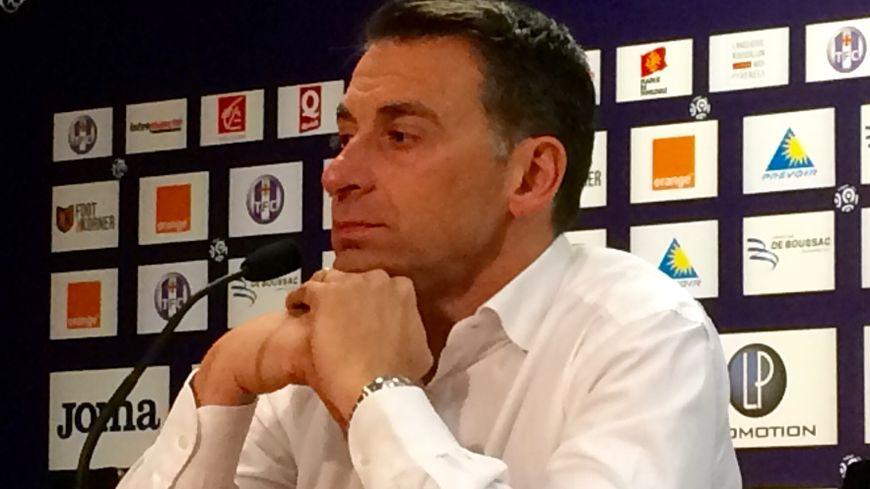 Olivier Sadran était déjà pensif en 2016 lorsqu'il avait appelé Pascal Dupraz à la rescousse pour éviter la relégation