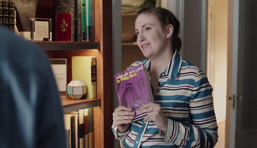 """Lena Dunham/Hannah dans la Saison 6 de  la série """"Girls"""""""