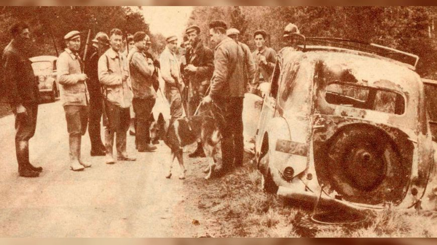 La tragédie de Dun-le-Poëlier : la voiture de l'assassin