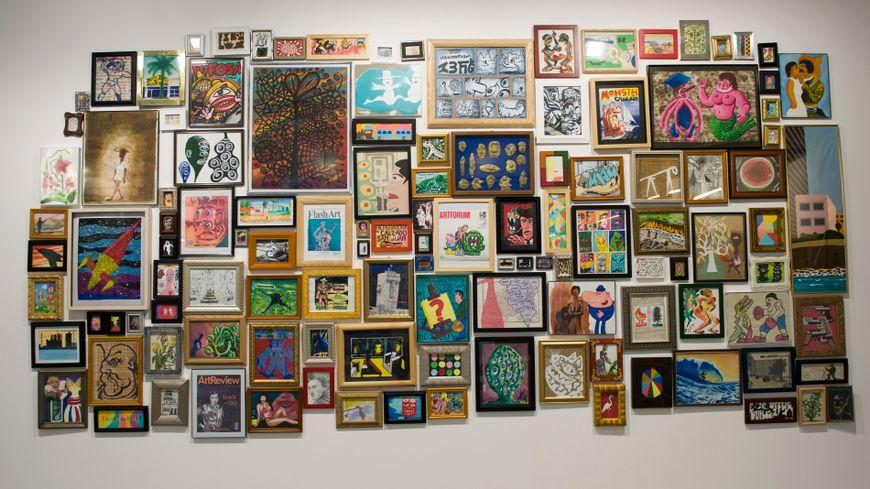 Le Sétois Hervé Di Rosa fait partie des 160 artistes présents dans l'artothèque de Montpellier (illustration)