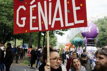 La manifestation du 1er mai à Paris