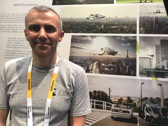 Olivier Le Lann, le CEO d'EVA, est un ancien de TESLA