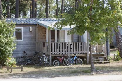 Un cottage du camping de Sandaya