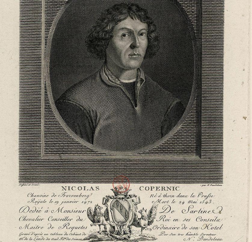 Nicolas Copernic, Album Louis-Philippe Author: Dandeleau Nicolas (vers 1749-?) graveur hollandais