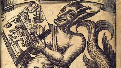 "Frontispice des aventures de  ""Simplicius Simplicissimus"" (1669)"