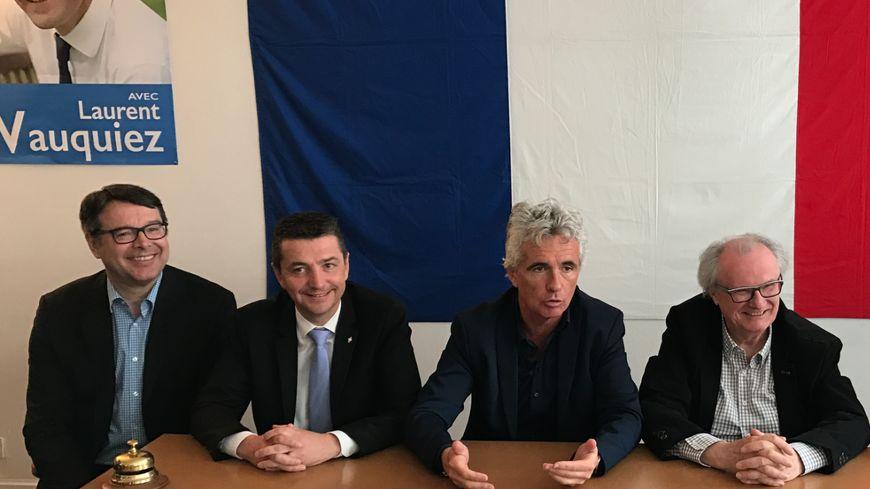 Georges Ziegler (à droite) président du département de la Loire, rejoint Les Républicains