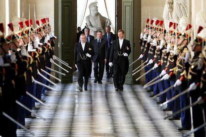 Le Congrès du 21 juillet 2008 pour la révision de la Constitution, voulue par Nicolas Sarkozy