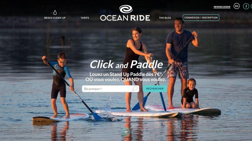Ocean Ride, le paddle en un click