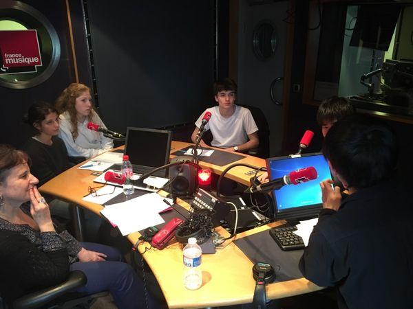 Anen Montaron, les élèves et Tetuya Yamamoto en interview au studio