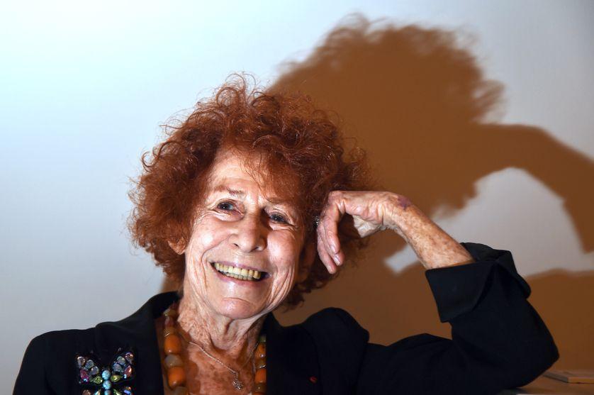 Marceline Loridan-Ivens le 15 janvier 2015 à Paris.