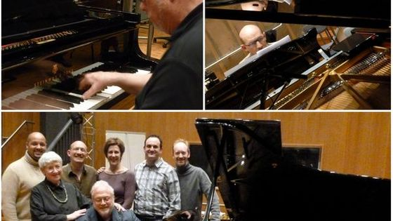 Joan Morris, William Bolcom au piano, David Levi au piano et Guy Livingston